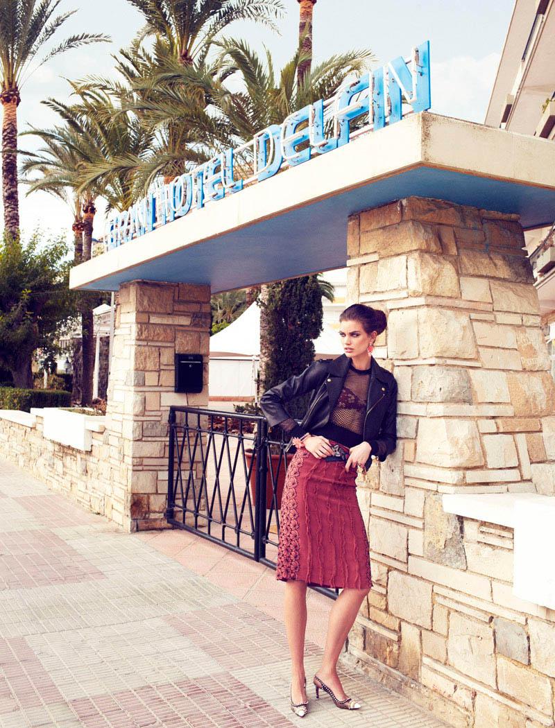 rianne ten haken elle spain4 Rianne ten Haken Poses for Xavi Gordo in Elle Spains March 2013 Cover Shoot