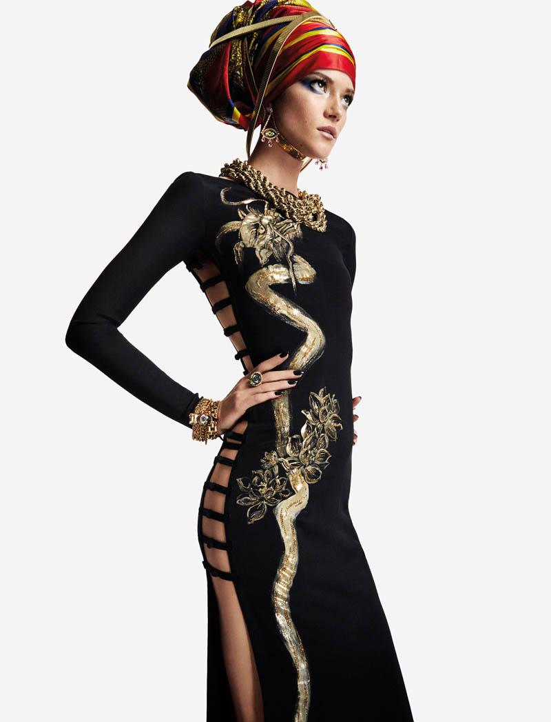 KasiaStrussNumeroGregKadel9 Kasia Struss Dons a Fashion Mix for Numéro #142 by Greg Kadel