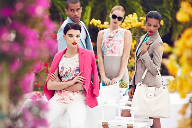 mMax Abadian Crystal Renn Chateau6 Crystal Renn Fronts La Chateau Spring 2013 Campaign by Max Abadian