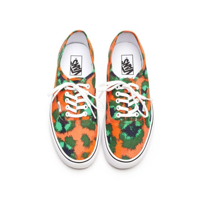 vans kenzo1 Vans x Kenzo Gets Colorful, Jungle Inspired for Spring/Summer 2013 Collection