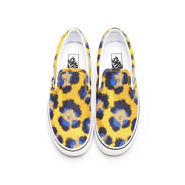 vans kenzo6 Vans x Kenzo Gets Colorful, Jungle Inspired for Spring/Summer 2013 Collection