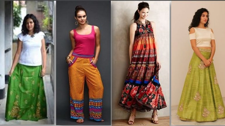Fusion of Western and Ethnic Style for Diwali