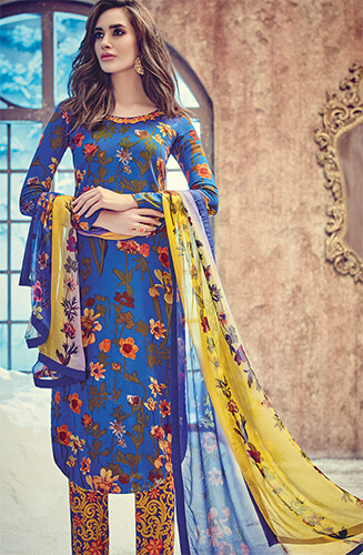 Pashmina Salwar Suits