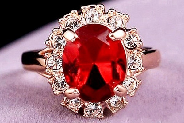 Ruby-Stone Ring