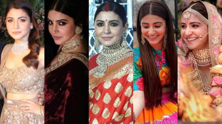Complete Dressing Guide of Virat-Anushka Wedding – Engagement to Reception