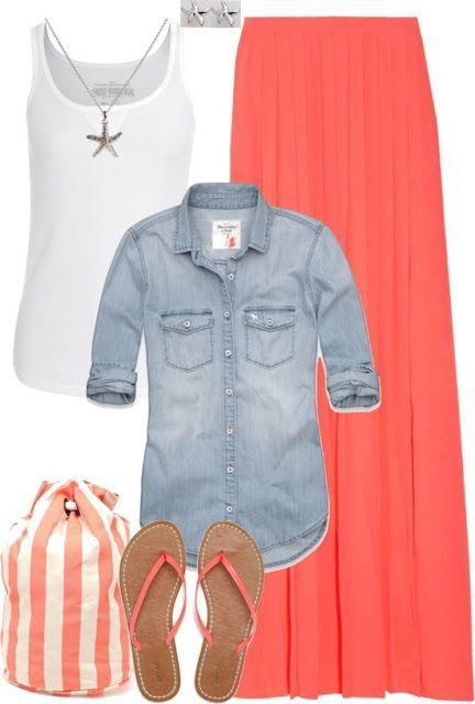 Adorable Easy To Wear Outfit Ideas To Rock This Summer (4)