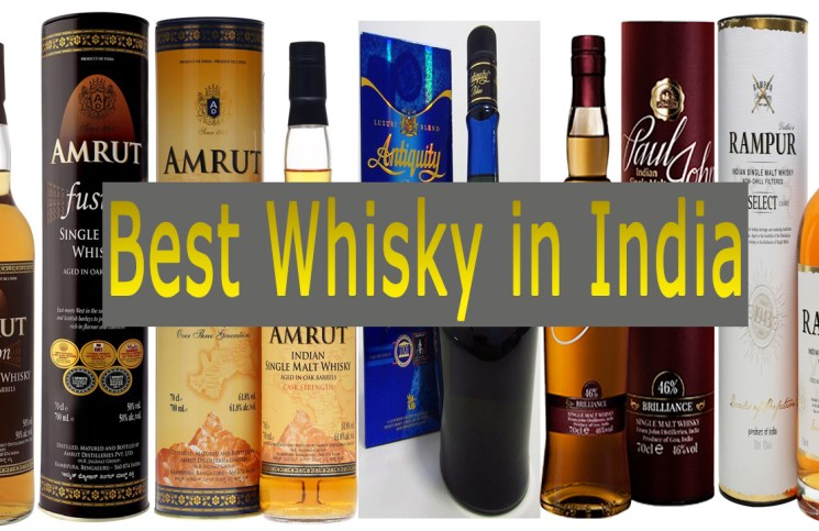 Best Whisky in India