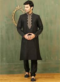 Festival Wear Embroidered Work Kurta Pajama