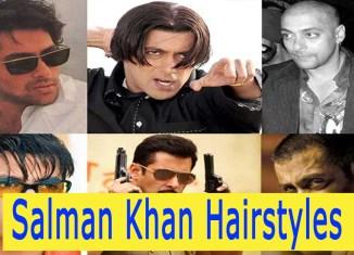 Salman Khan Hairstyles