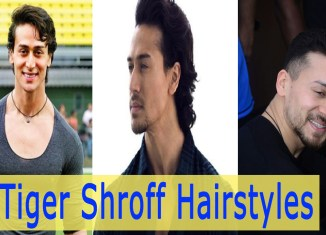 tiger shroff hairstyles