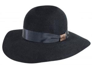 WOMEN'S BELLE BLACK HAT | Pachachuti
