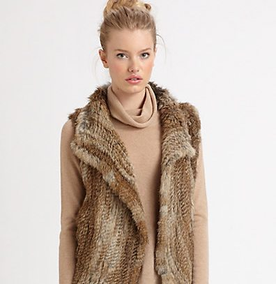Trending: Fur Vests