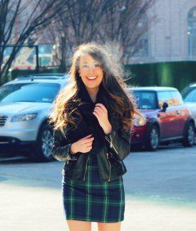 Stalk My Style: Plaid Dress & High Socks