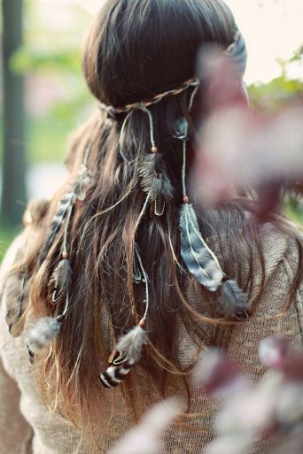 festival inspiration headpiece