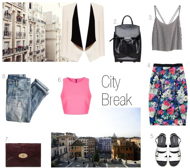 how to dress for vacation in the city
