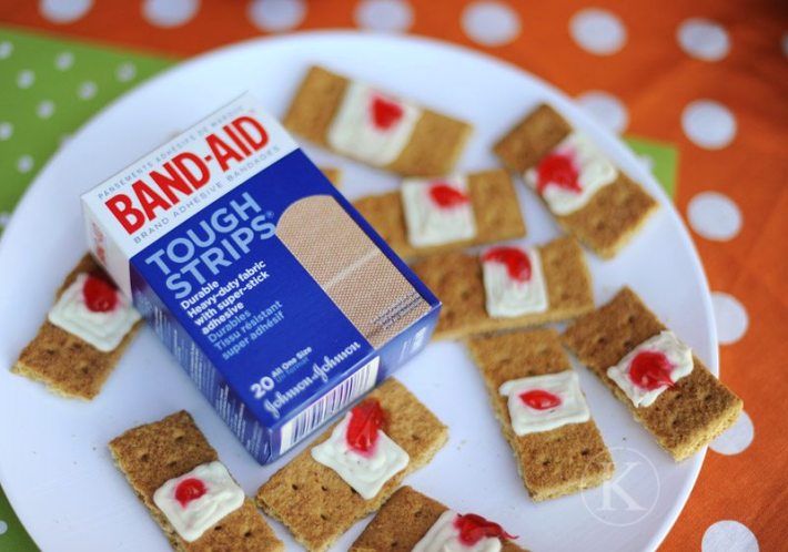 bandaids halloween treats