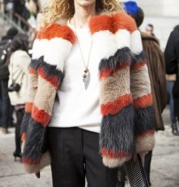 statement fur coat