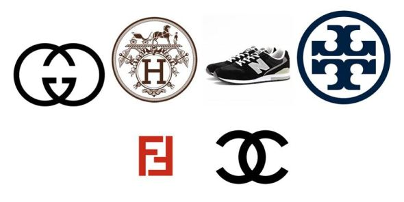 "A few logos have doubled letters  Gucci has made the twin ""G"" into a brand   as with the seemingly reflective Tory Burch ""T"" 3e5fbeb39"