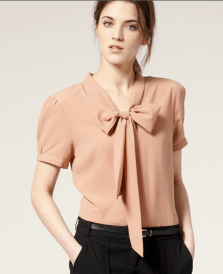 ASOS-Pussybow-Short-Sleeve-Blouse1