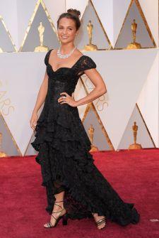 Alicia Viaknder - Louis Vuitton dress