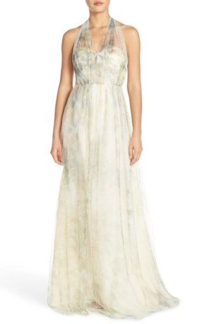 Jenny Yoo Annabelle Print Tulle Gown - Nordstrom