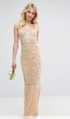 Maya Embellished Maxi Dress - Asos