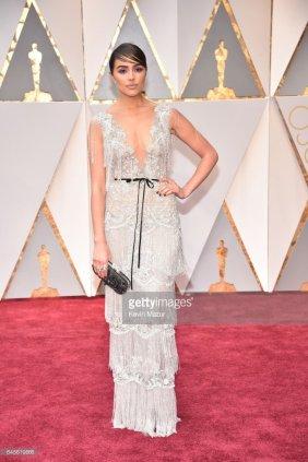 Olivia Culpo - Marchesa gown & Neil Lane jewellery