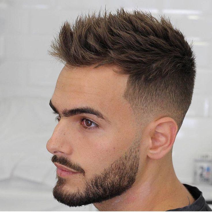 Fashionable Mens Haircuts Short Faded Hair