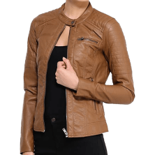 fashioninvogue-brown-leather-jacket-women-6