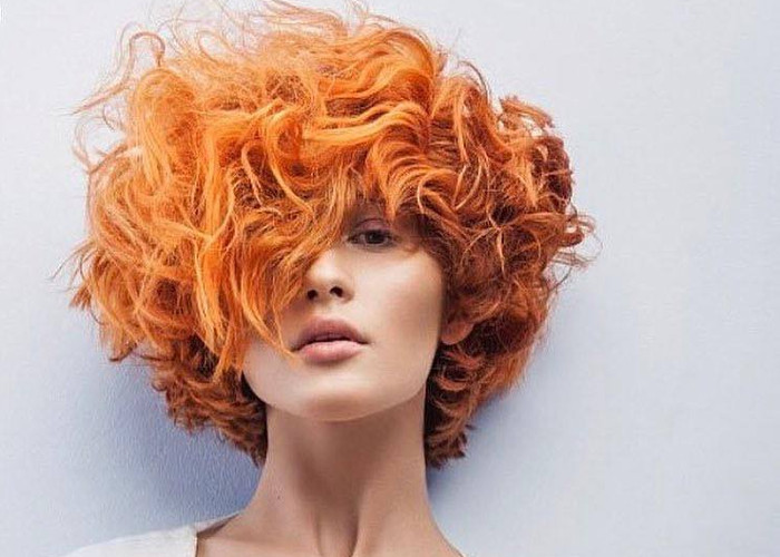 The Tangerine Hair is Going to Rule the Summer