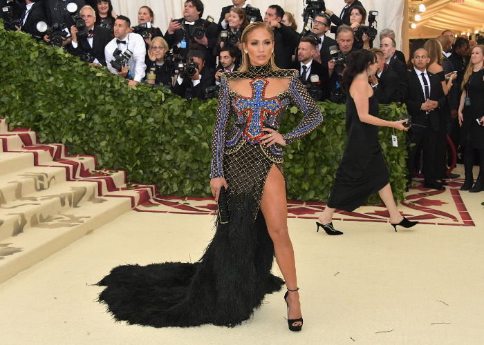 The Sexiest Looks From The 2018 Met Gala Jennifer Lopez