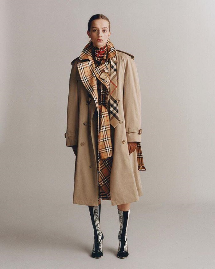 Burberry To Stop Using Fur And Burning Unsold Stock trench scarf boots