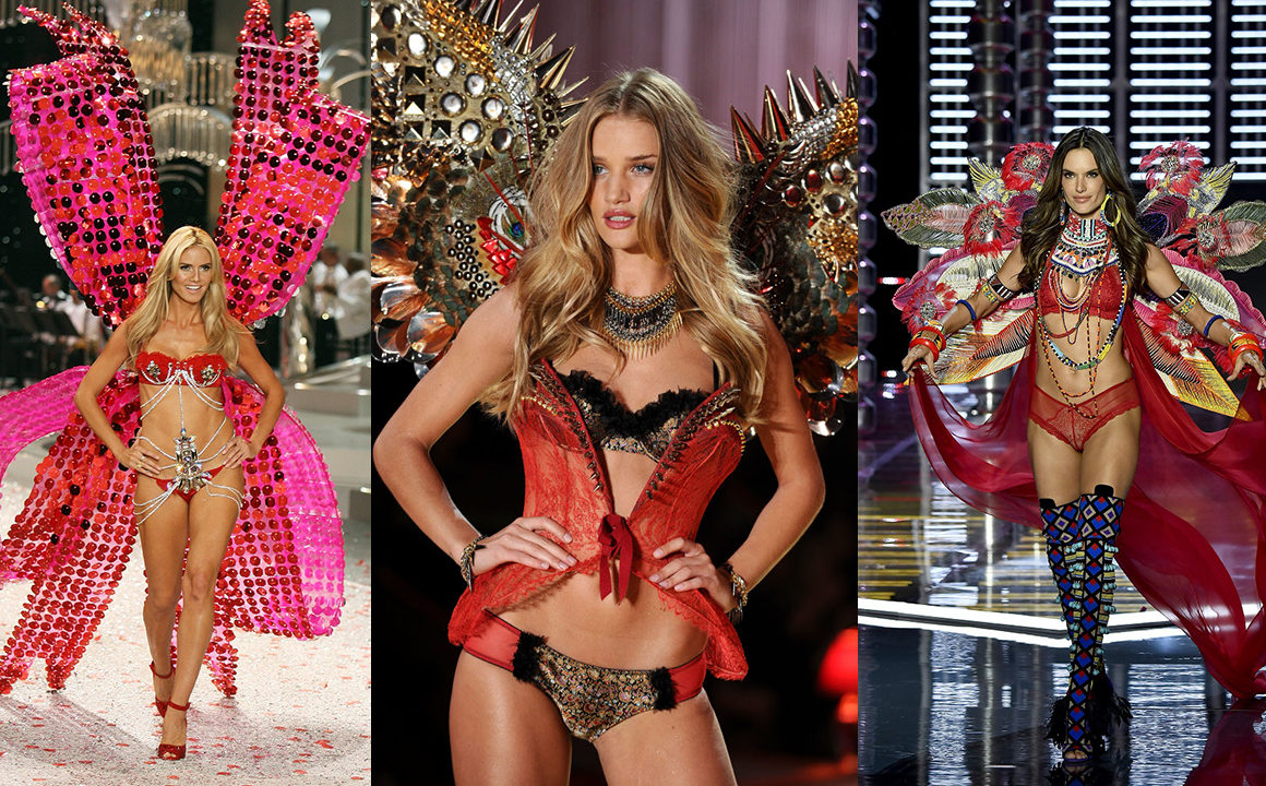 The Victoria's Secret Models We Miss Walking in the VS Fashion Show