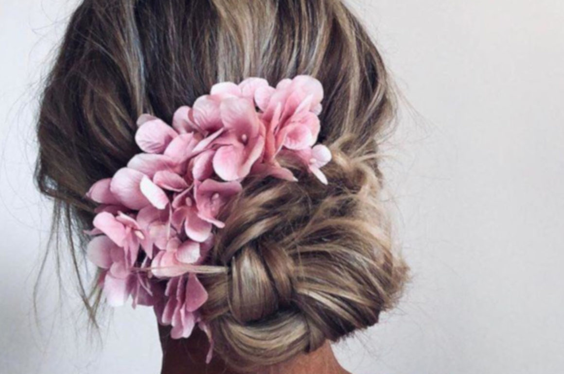 Creative Hairstyles For All of Your Special Occasions this Summer low braided bun