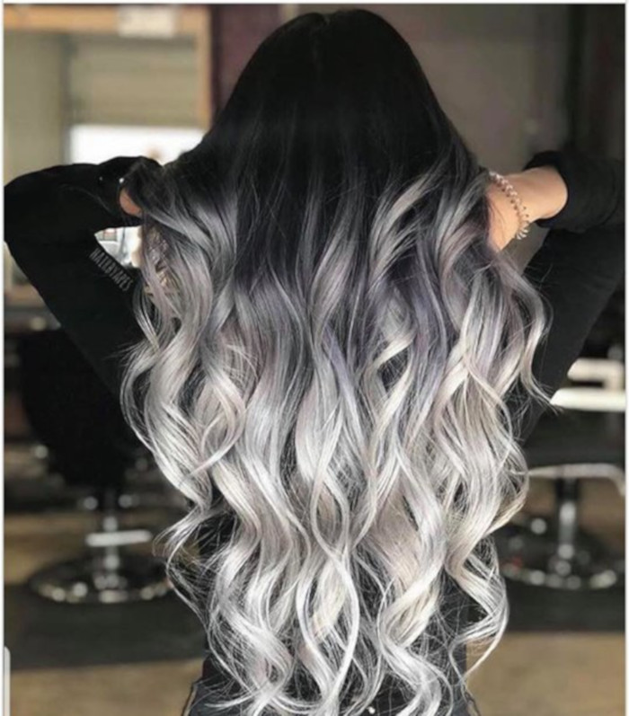 Silver Highlights are trending on Pinterest