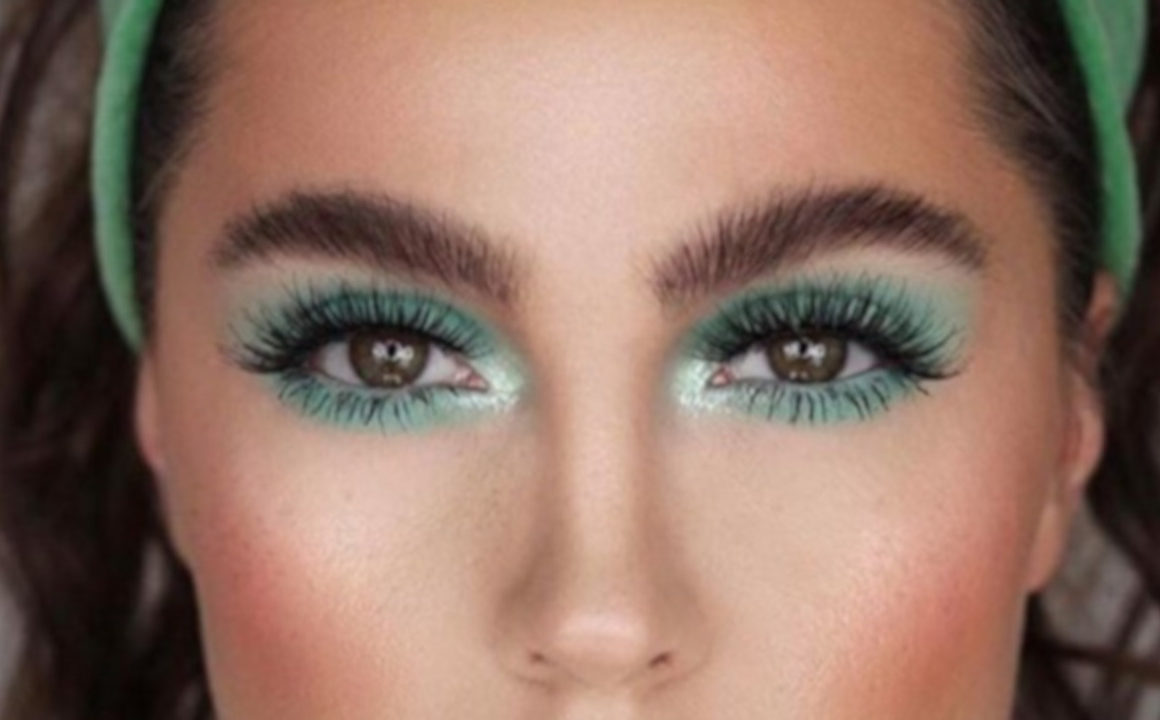 The Most Energizing Mint Green Makeup Looks to Copy