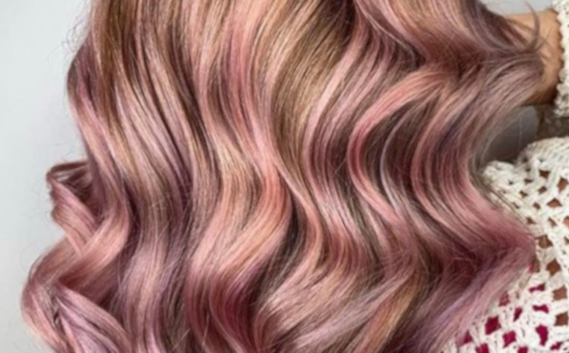 X Stunning rose gold hair ideas for 2019 5