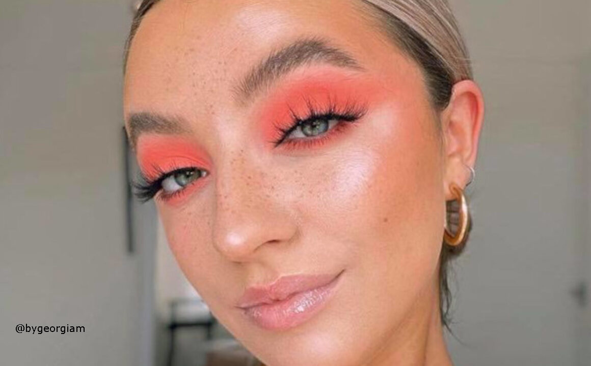 How To Wear Living Coral Makeup Looks In Fall