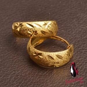 Ethiopian Gold Color Earrings Women African Jewelry Middle East Arab Trendy Jewellery Earring Stud Birthday Gifts #J0309