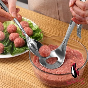 Transhome Meatball Maker Spoon Stainless Steel Non-Stick Creative Meatball Maker Cooking Tools Kitchen Gadgets And Accessories