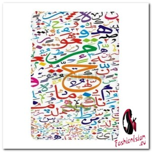 multi-colour-arabic-alphabets Samsung Galaxy Tab 10.1 P7500 Hardshell Case
