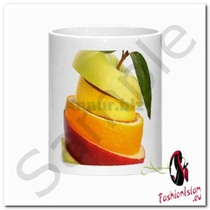 Colorful Mixed Fruit Morph Mug c