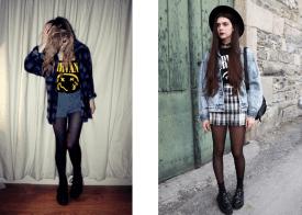 """Résultat de recherche d'images pour """"grunge style vestimentaire"""""""