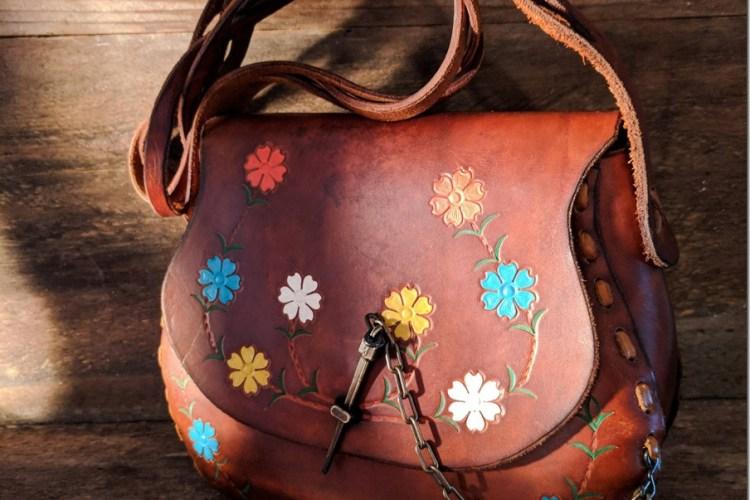 Vintage Boho Brown Leather Bags