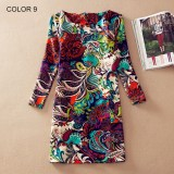Ladies Long Sleeve Casual Autumn Color 9