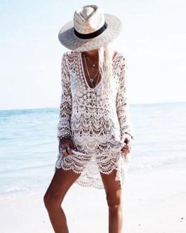 White Handmade Crochet