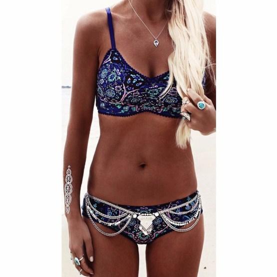 Print Brazilian Bikini