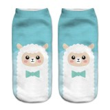 Socks Funny Aliens 3D Printing Cotton