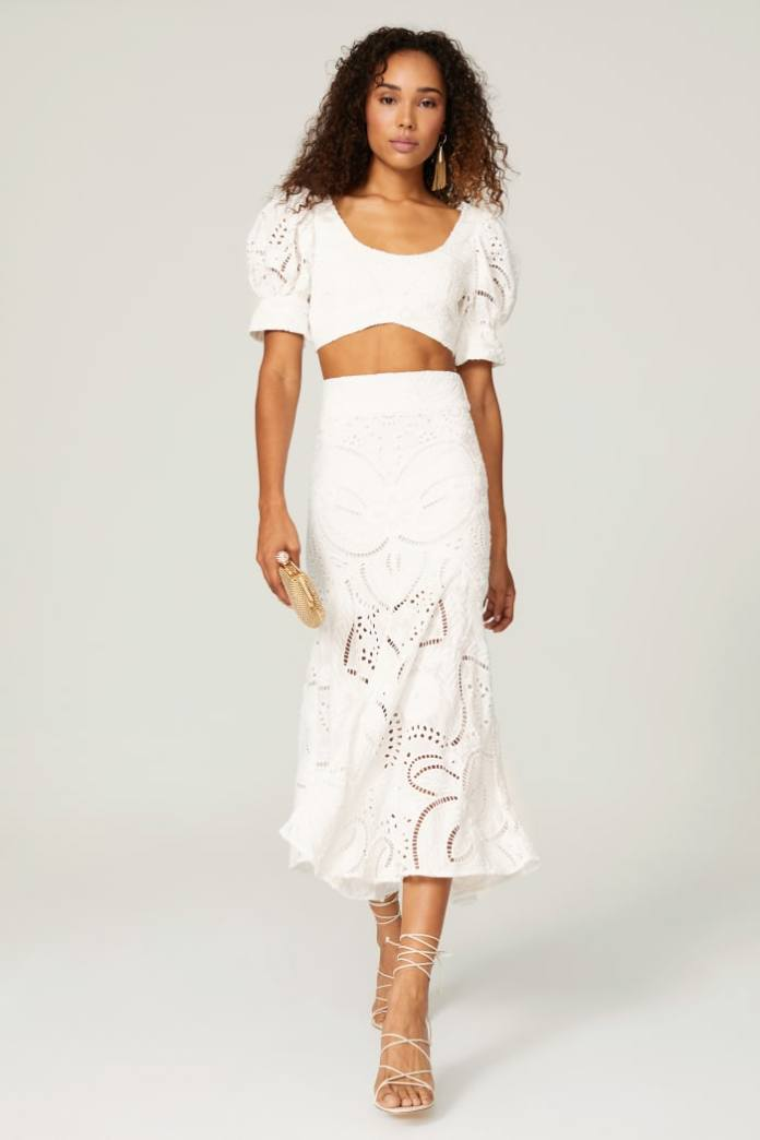A popular wedding occasion separates look by Thurley from Rent the Runway.
