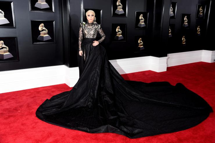 lady gaga grammys - See All the Red-Carpet Looks From The 2018 Grammy Awards